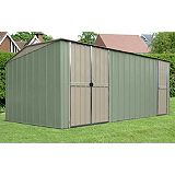 Save on this Canberra Workshop 10x19ft Green & Cream