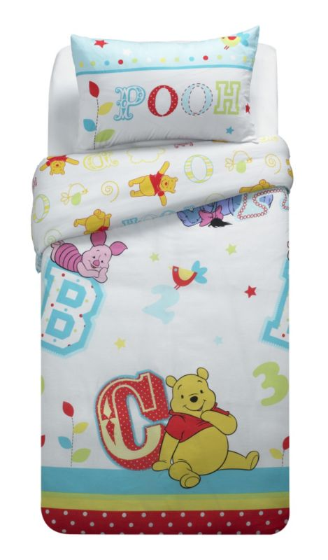 Disney Winnie the Pooh Winnie The Pooh Duvet Set (135x200cm)