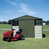 Save on this Titan Metal Shed - Model 108 - (H) 7ft3in x (W) 10ft5in x (D) 8ft6in