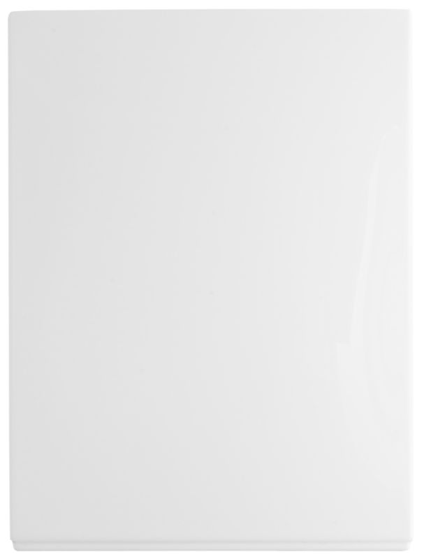 Showerbath End Panel White