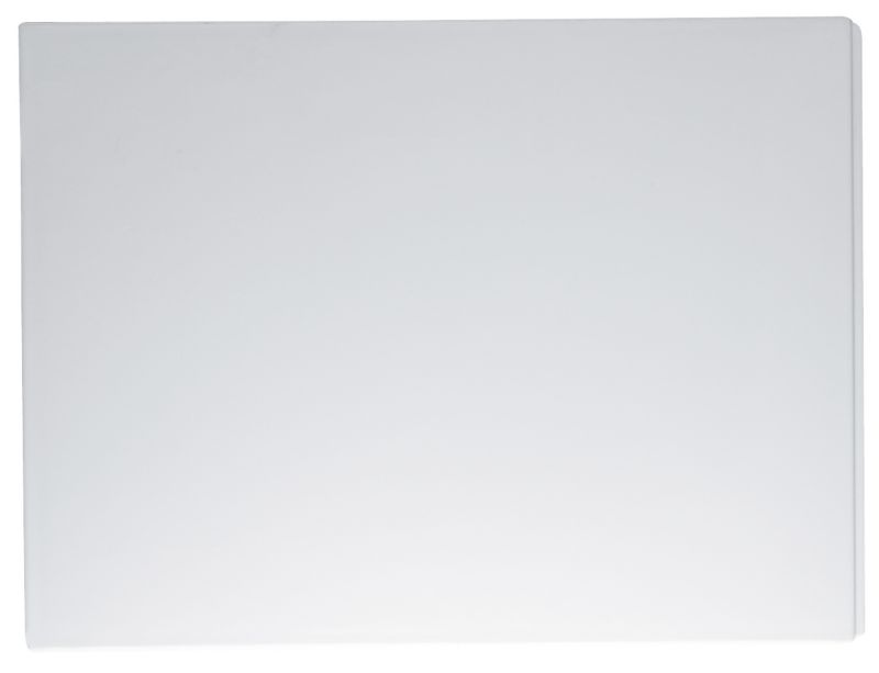 Nuance Bath End Panel White (W)800mm