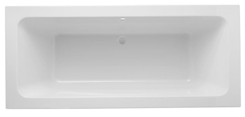 Uplift and Unwind Bath White (L)1700 x (W)750mm