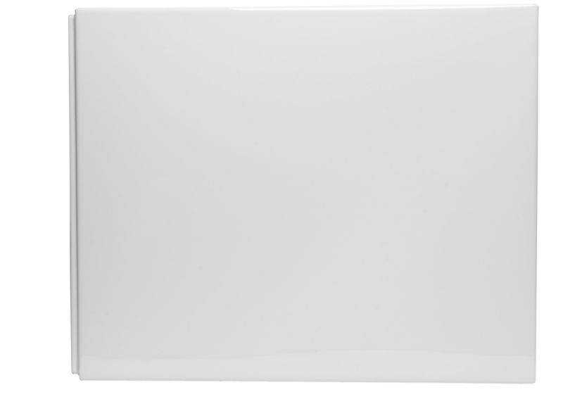 Unwind Bath End Panel White