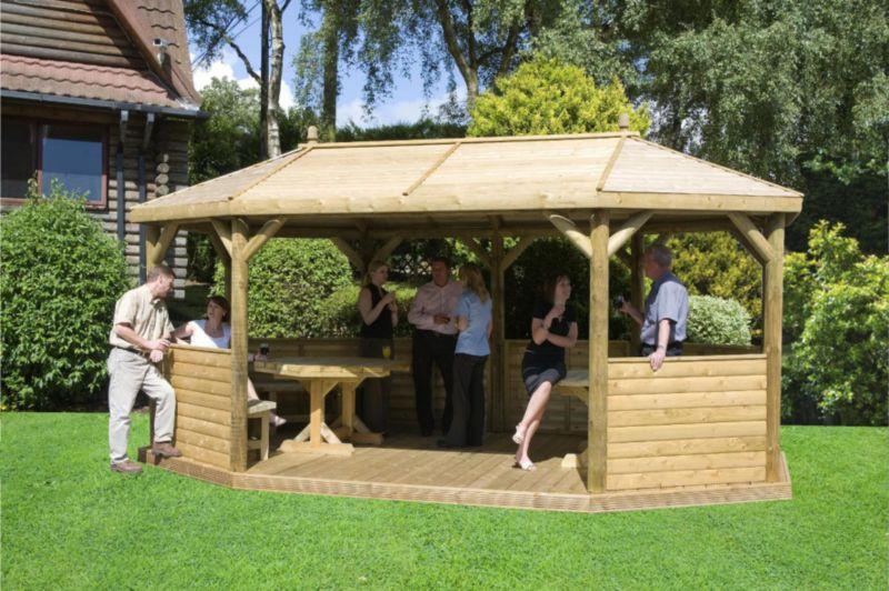Elgar Pavilion Green Waterbased