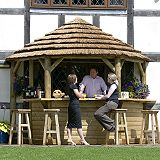 Save on this Classic Thatched Lean-To Green Waterbased