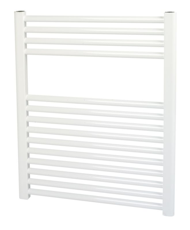 Kudox Flat White Towel Radiator 700 x 600mm 387W