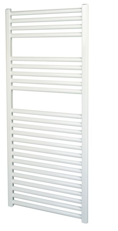 Kudox Flat White Towel Radiator 500 x 1100mm