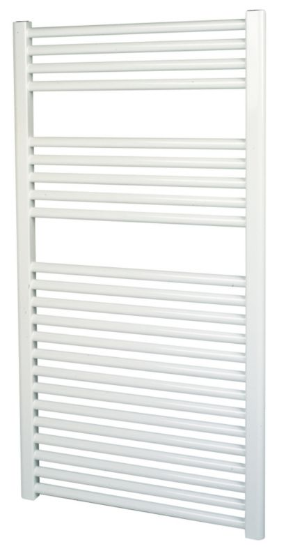 Kudox Flat White Towel Radiator 1100 x 600mm