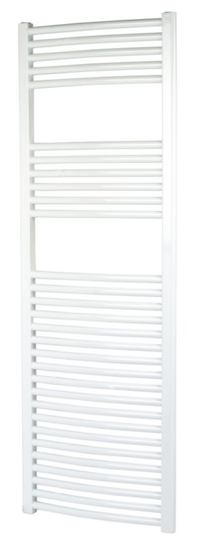 Kudox Curved White Towel Radiator 1500 x 500mm
