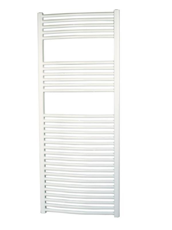 Kudox Curved White Towel Radiator 1500 x 600mm