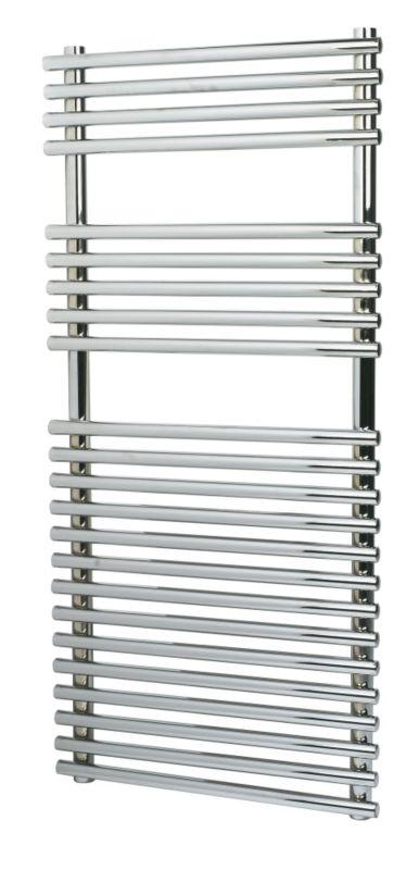 Kudox Chrome Bar-on-Bar Towel Rail 1100 x 500mm