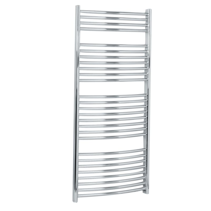 towel radiators b and q bandq curved towel rail brackets. Black Bedroom Furniture Sets. Home Design Ideas