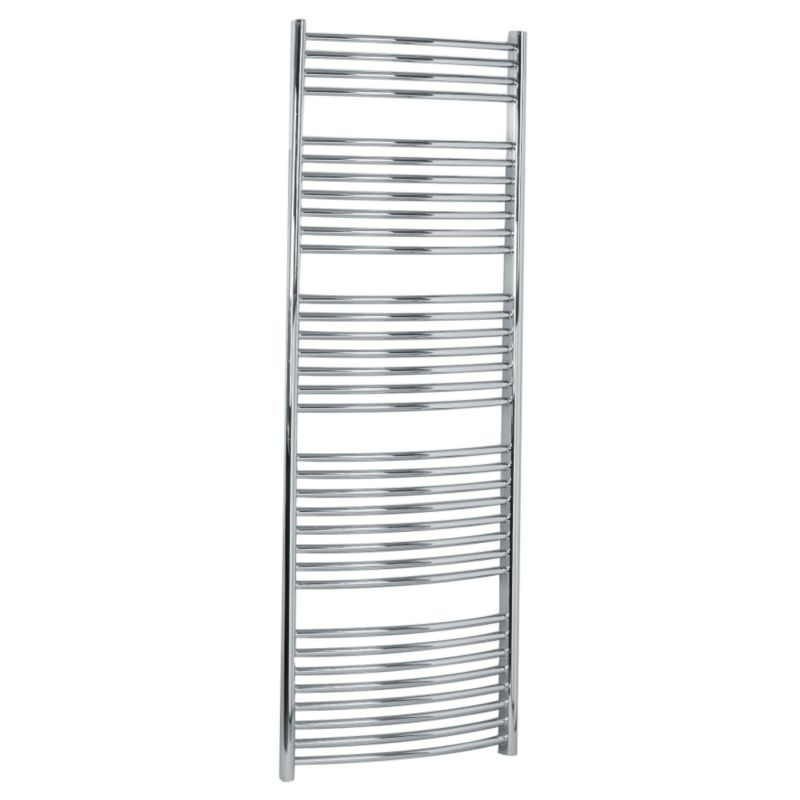Decorative Towel Warmers : Towel radiators b and q bandq curved decorative