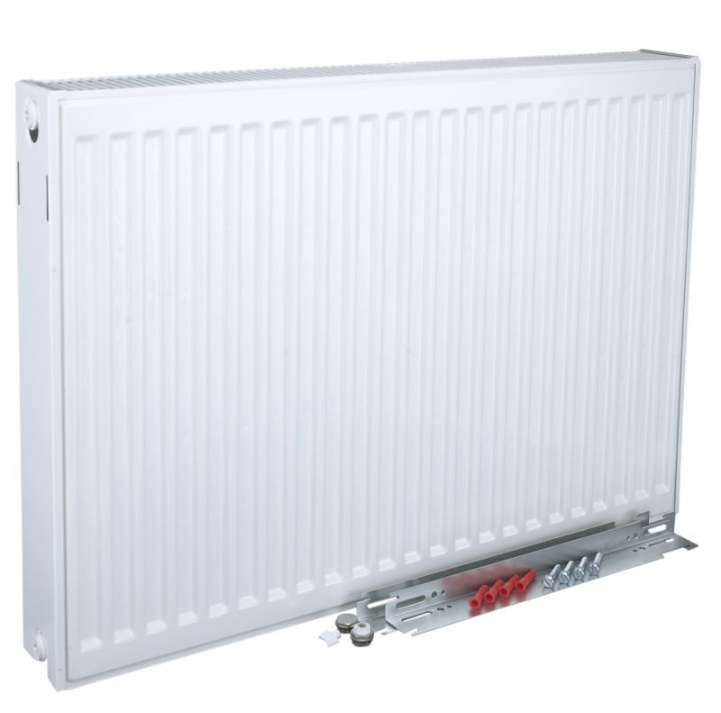 Kudox Double Radiator 3662 BTU 600 x 600mm