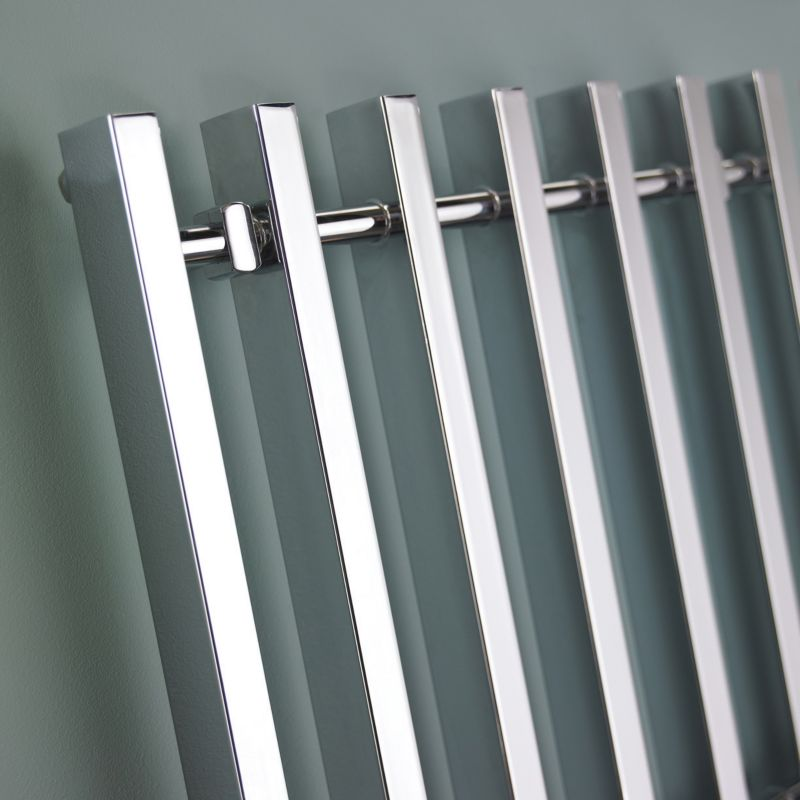 Kudox Filomena Chrome Designer Towel Radiator product image