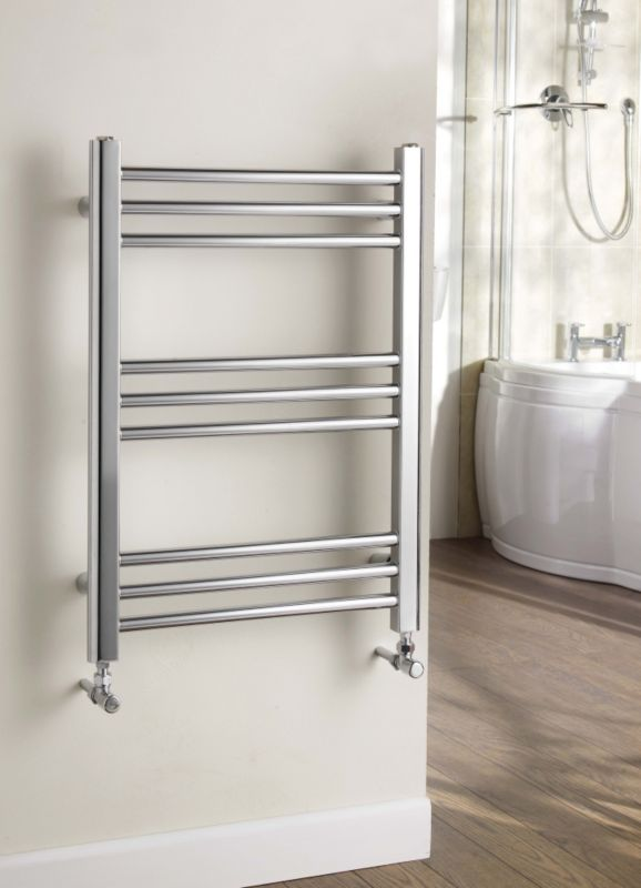 Kudox Timeless Designer Towel Radiator Chrome product image