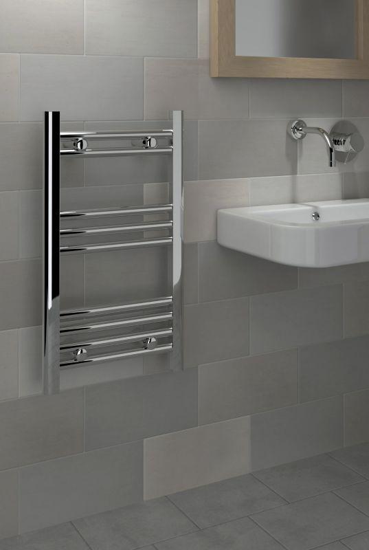 Kudox Majestic 400mm X 700mm Chrome Towel Warmer