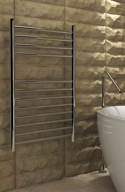 500X750mm Flat O Stainless Steel Towel Rail