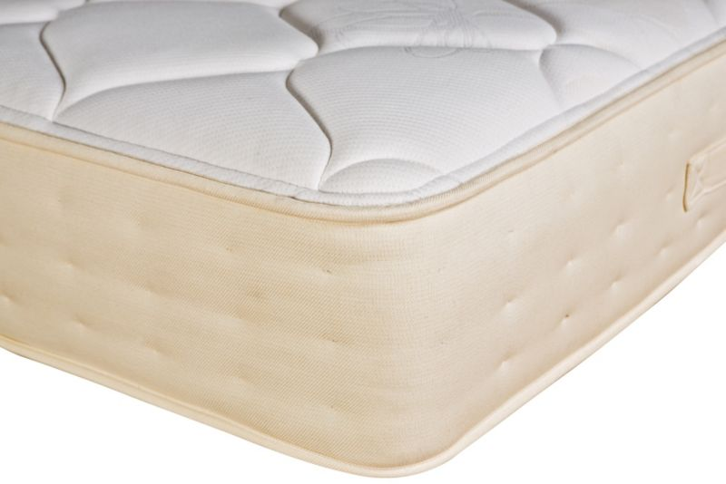 Calabria Rest Assured Latex Superking Micro Quilt Mattress & 4 Drawer Divan
