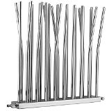 Save on this Bamboo Ultra Modern Designer Radiator (38 Pipes) Chrome Plated
