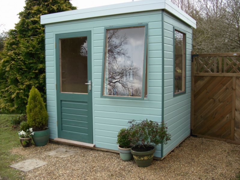 Henley Solus Garden Office & Room With Left Hand Door - (H) 2.3m x (W) 2.4m x (D) 1.8m