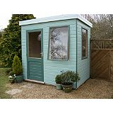 Save on this Henley Solus Garden Office & Room With Left Hand Door - (H) 2.3m x (W) 2.4m x (D) 1.8m