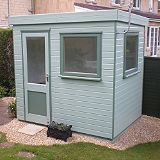 Save on this Henley Solus Garden Office & Room With Left Hand Door Including Assembly - (H) 2.3m x (W) 2.4m x (D) 1.8m