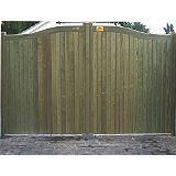 Save on this Hythe Double Leaf Courtyard Gate (H)1.8m x (W)3.6m
