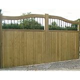 Save on this Hythe Railing Topper Courtyard Gate (H)1.8m x (W)3.1m