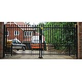 Save on this Ornamental Level Top Gate Set Black (W)3m