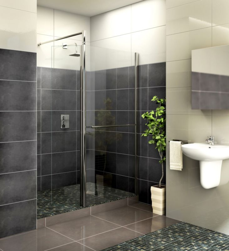 Aquadry Shower Door 700mm