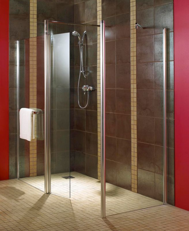 Aquadry Shower End Panel 900mm