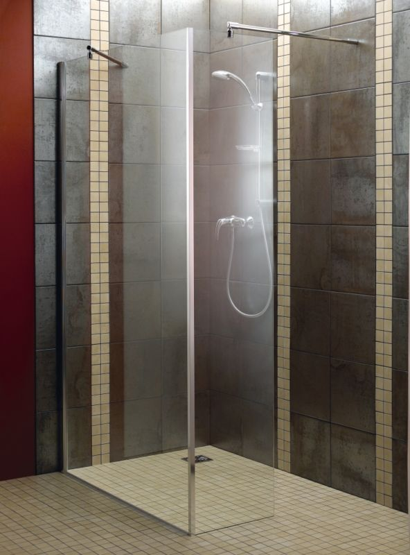 L Shaped Walk-In Shower Screen