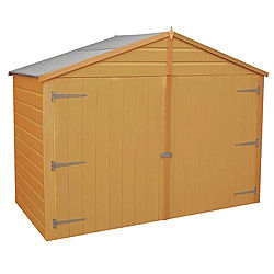 Mustajab build wooden shed 7x4 for Garden shed 7x4