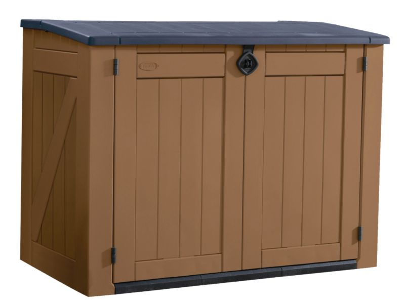 Learn to build shed where to get plastic garden storage - Brown plastic garden sheds ...
