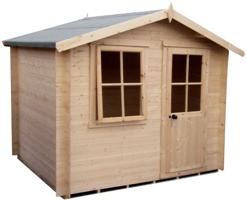 8X6 Hartley Cabin Including Assembly And Base