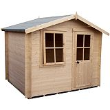 Save on this 8X6 Hartley Cabin Including Assembly And Base