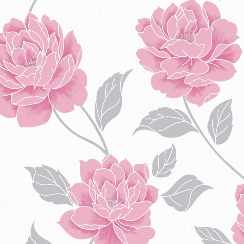 Ella Wallcovering Pink