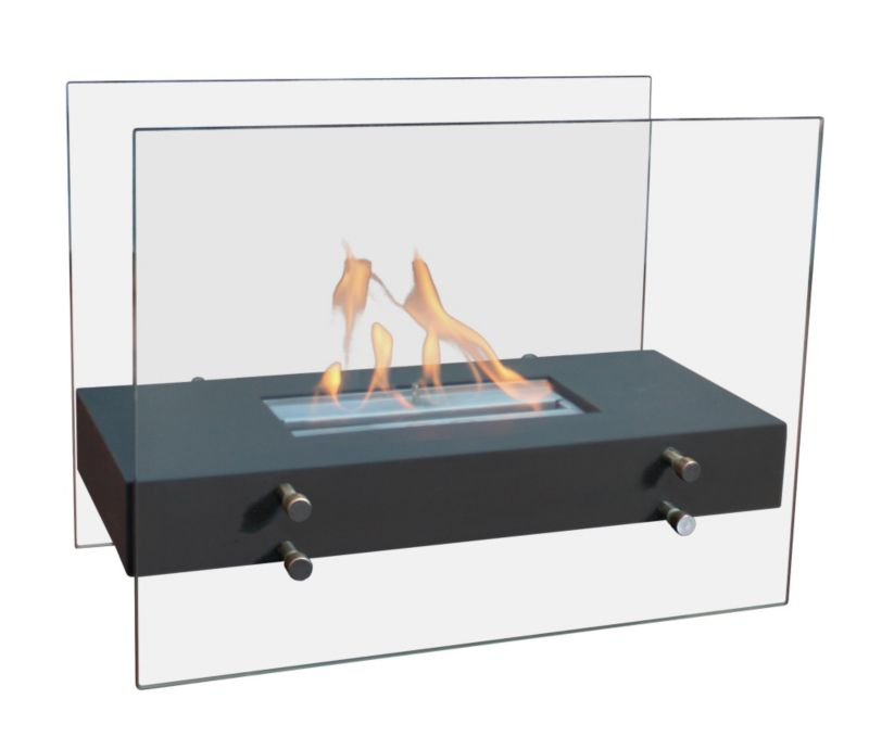 Heating & Cooling Almeria Real Flame Portable Bio Ethanol Fire