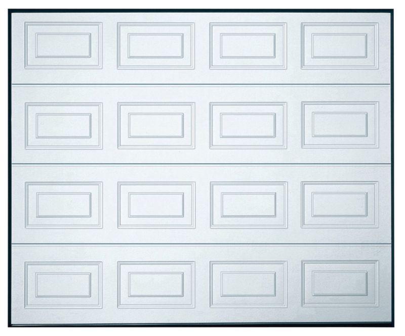 Georgian 20 Mm Sectional Garage Door White, 7670