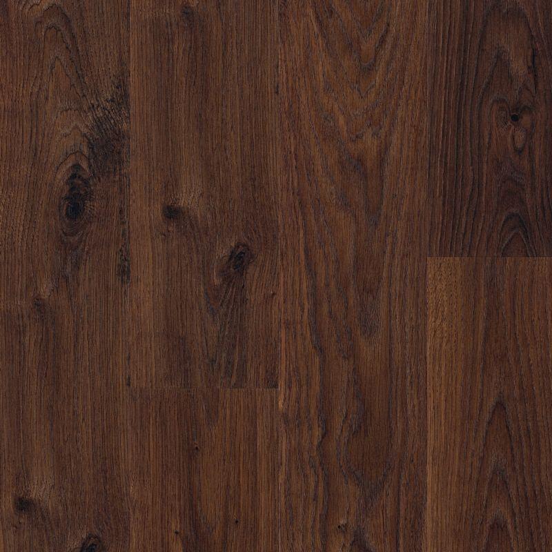 b q quick step andante dark brown oak effect laminate. Black Bedroom Furniture Sets. Home Design Ideas