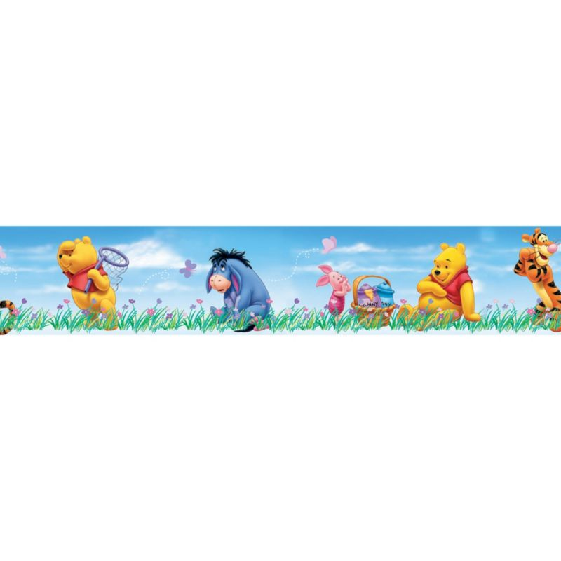 disney winnie the pooh beautiful day border in winnie the pooh review compare prices buy online. Black Bedroom Furniture Sets. Home Design Ideas