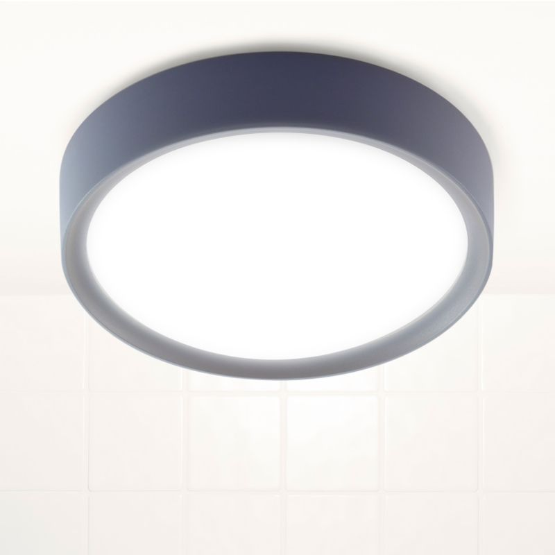 B&Q - Ruth Bathroom Ceiling Light Grey with Frosted Glass customer