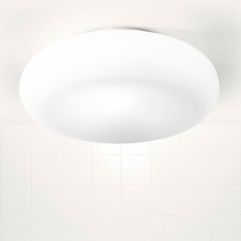 B&Q - Atoll Bathroom Light White Glass customer reviews - product