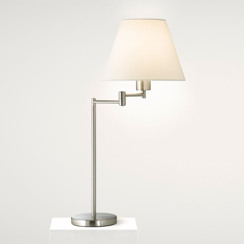 Lights by BandQ Leamington Swing Arm Table Light