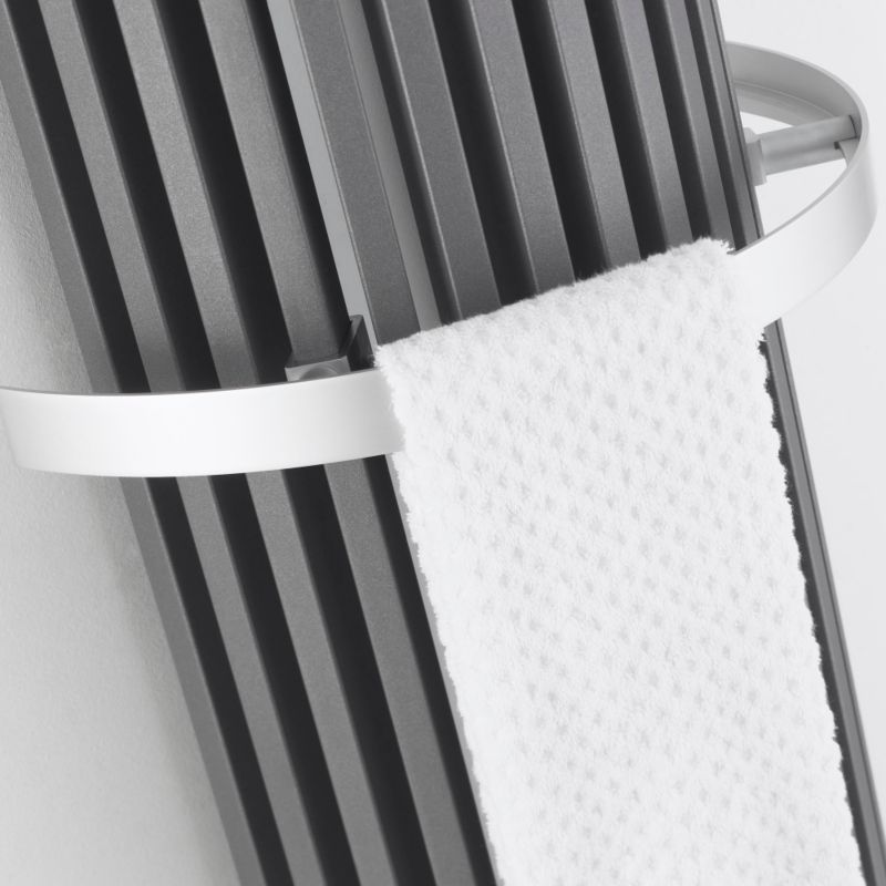 Bristan Thermic Zana Half Round Towel Rail (H)40