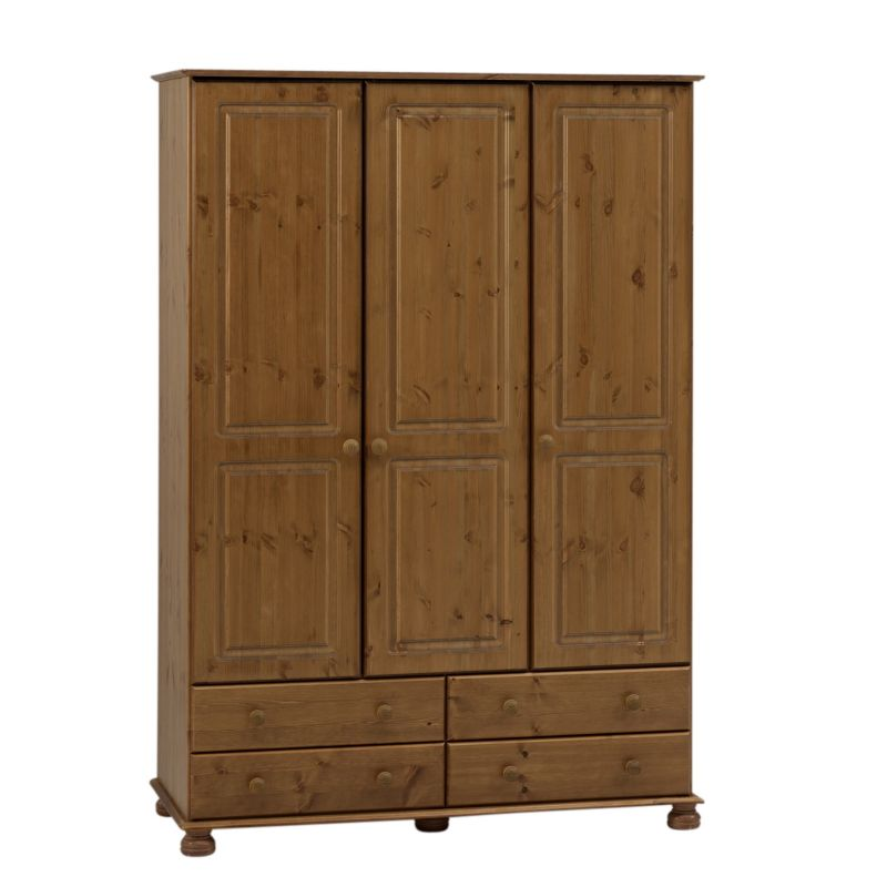 Malmo 3 Door 4 Drawer Wardrobe product image