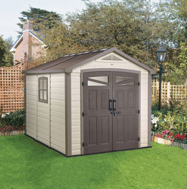 Keter Orion 8ft x 9ft Shed