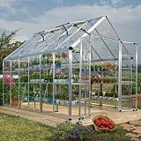 Save on this Model 8x12 Snap & Grow Double Door Greenhouse - Aluminium Frame + Base + Polycarbonate Glazing