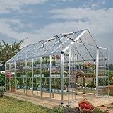 Save on this Model 8x16 Snap & Grow Double Door Greenhouse - Aluminium Frame + Base + Polycarbonate Glazing